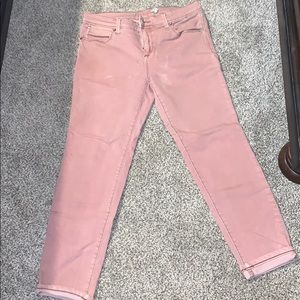 Free people pink jeans
